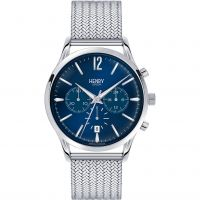Herren Henry London Heritage Knightsbridge Chronograph Watch HL41-CM-0037