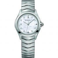 Damen Ebel neu Welle Diamant Uhr
