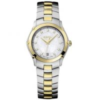 Ladies Ebel Sport 18ct Gold Diamond Watch 1216029