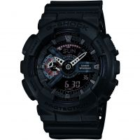 Casio G-Shock Military Black Herenchronograaf Zwart GA-110MB-1AER