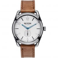 Mens Nixon The C39 Leather Watch