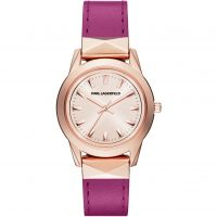 Damen Karl Lagerfeld Labelle Stud Watch KL3806