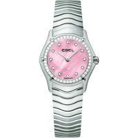 Damen Ebel klassisch Diamant Uhr