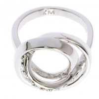 femme Karen Millen Jewellery Ring Medium Watch KMJ877-01-02M