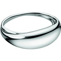 Ladies Calvin Klein Stainless Steel Extra Small Fluid Bangle