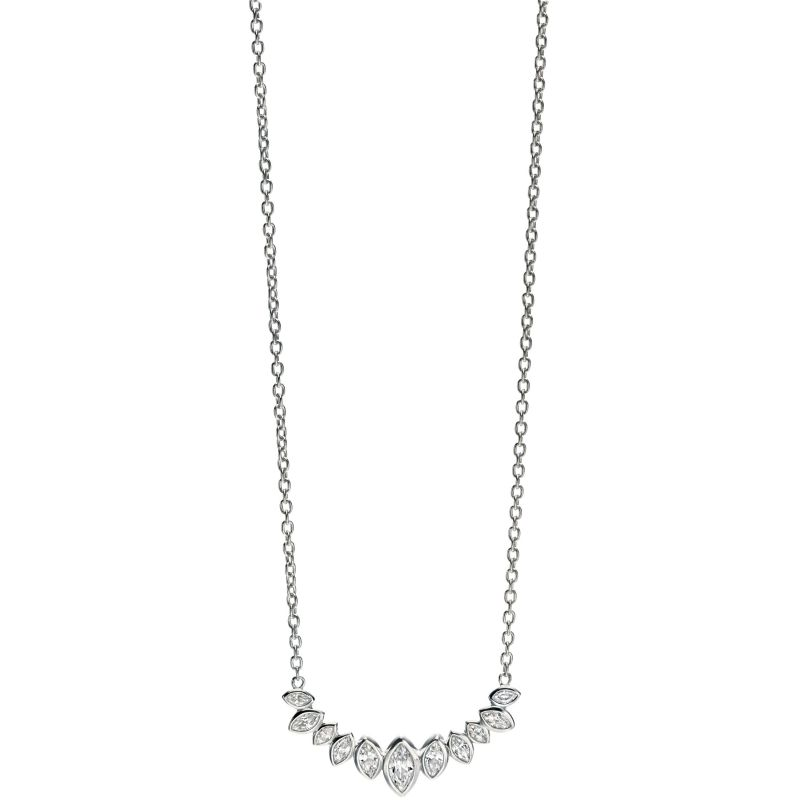 Ladies Fiorelli Sterling Silver Necklace N3906C