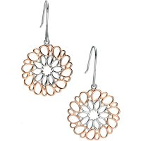 Ladies Fiorelli Sterling Silver Earrings E5081