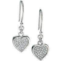 Ladies Fiorelli Sterling Silver Earrings E4852C