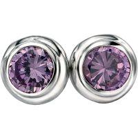 femme Fiorelli Jewellery & Amethyst Earrings Watch E4870M