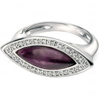 Ladies Fiorelli Sterling Silver & Amethyst Ring