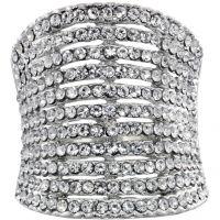 Damen Fiorelli PVD Silber Plated Ring