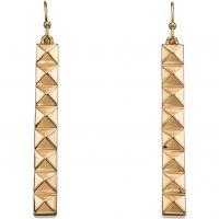 Damen Fiorelli PVD Gold überzogen Ohrringe