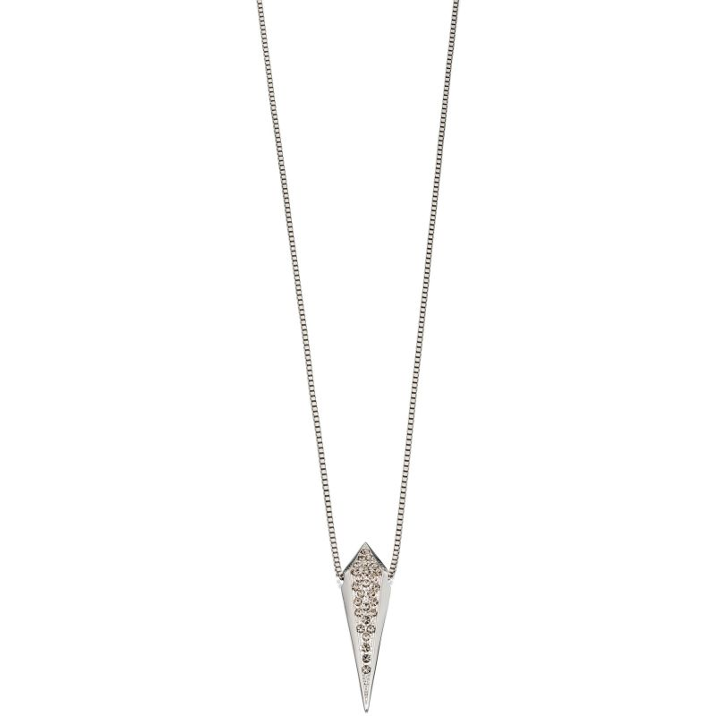 Ladies Fiorelli PVD Silver Plated Necklace N3896