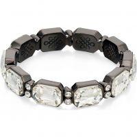 Damen Fiorelli Schwarz ionenbeschichteter Stahl Armband