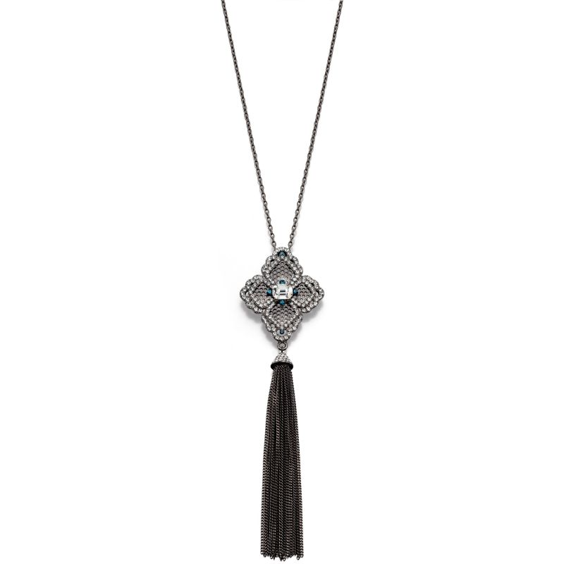 Ladies Fiorelli PVD Silver Plated Necklace N3898