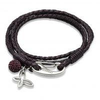 femme Unique & Co Leather Bracelet Watch B213BE/19CM