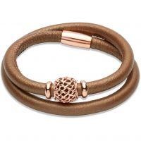 femme Unique & Co Leather Bracelet Watch B270BR/19CM