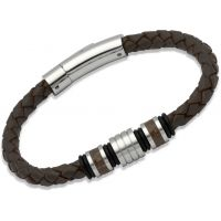 Biżuteria męska Unique & Co Leather Bracelet B188DB/21CM