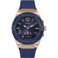 unisexe Guess Connect Bluetooth Hybrid Smartwatch Watch C0001G1