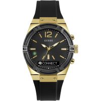 Unisex Guess Connect Bluetooth hybrid Smartwatch Chronograf Uhren
