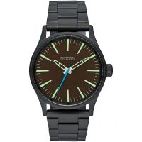 Nixon The Sentry 38 SS Damklocka Svart A450-712