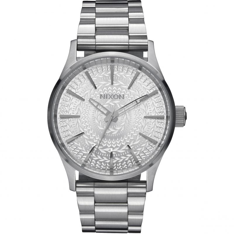 Ladies Nixon The Sentry 38 SS Watch A450-2129