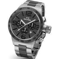 Herren TW Steel Canteen Chronograph 45mm Watch CB0203