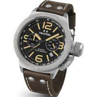 Herren TW Steel Canteen Chronograph 45mm Watch CS0033