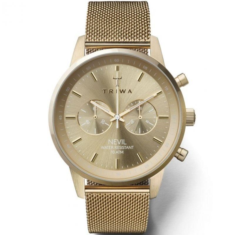 Herren Triwa Nevil Chrono Chronograph Watch NEST104-ME021313
