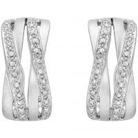 femme Jewellery Essentials Diamond Cross Over Earrings Watch AJ-12152340