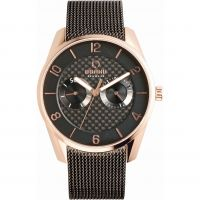 Herren Obaku Flint Watch V171GMVBMB
