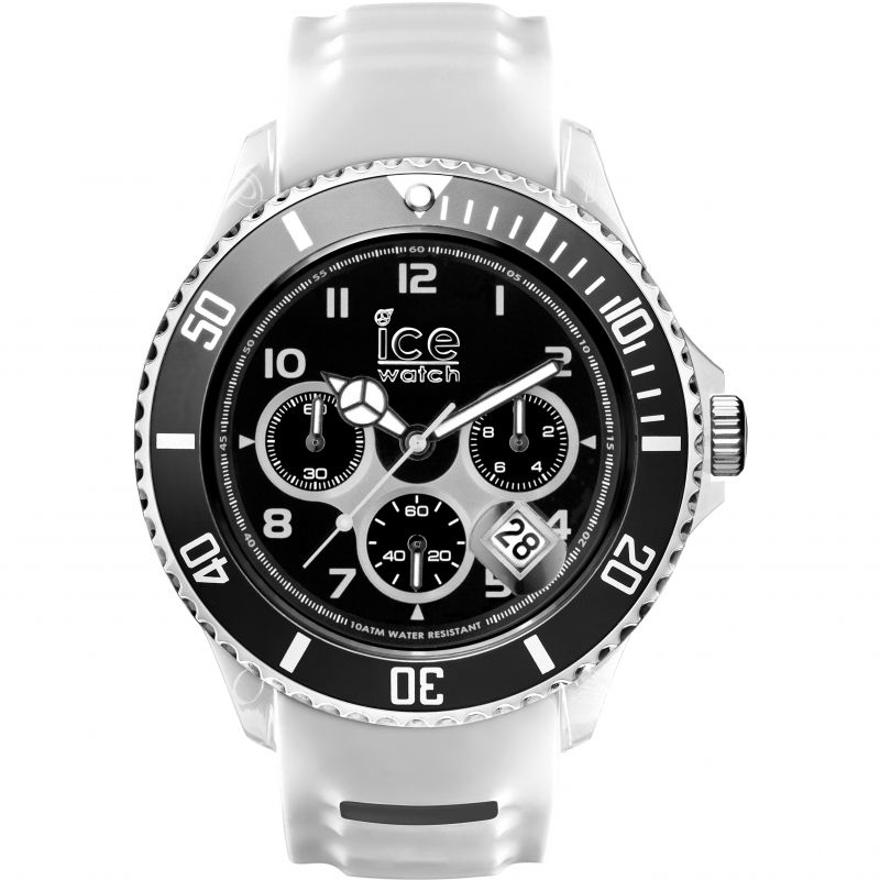 Mens Ice-Watch Ice-Sporty Big Big Chronograph Watch 001336