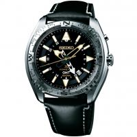 Mens Seiko Prospex GMT Kinetic Watch