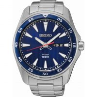 Herren Seiko Solar Powered Watch SNE391P1