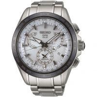 Herren Seiko Astron GPS Titan Chronograf Uhr