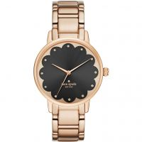 Kate Spade New York Gramercy Scalloped Dameshorloge Rose KSW1044