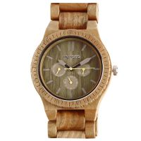 Unisex Wewood Kappa Militär Uhr