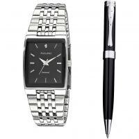 Herren Accurist Kugelschreiber Geschenk-Set Uhr