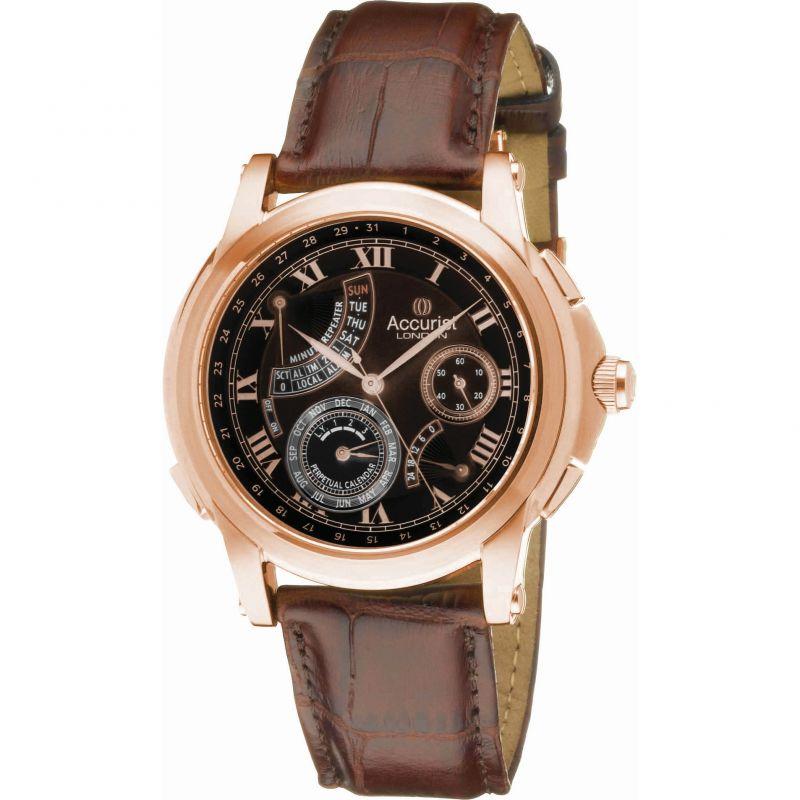 homme Accurist GMT Watch GMT326