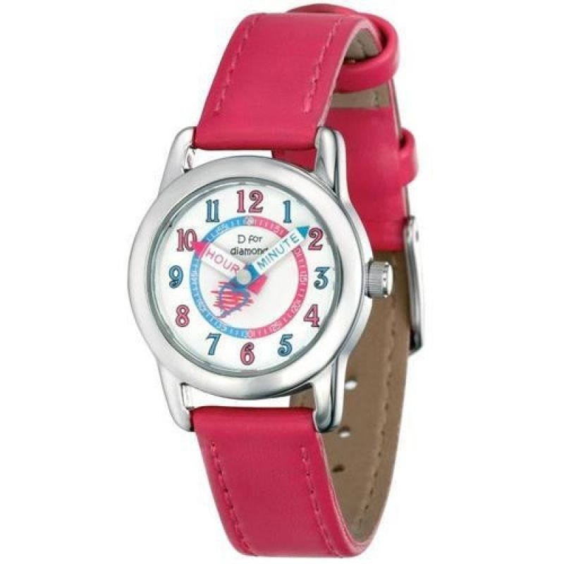 Childrens D For Diamond Stainless Steel Watch Z831