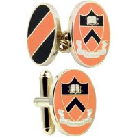 Mens Smart Turnout Cufflinks PVD Gold plated University PRIN/40-TB