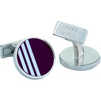 Mens Smart Turnout Cufflinks Stainless Steel University