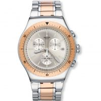 homme Swatch So Biggar Chronograph Watch YOS452G