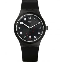 unisexe Swatch Sistem Gentleman Watch SUTF400
