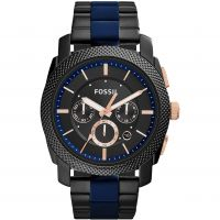Hommes Fossil Machine Chronographe Montre