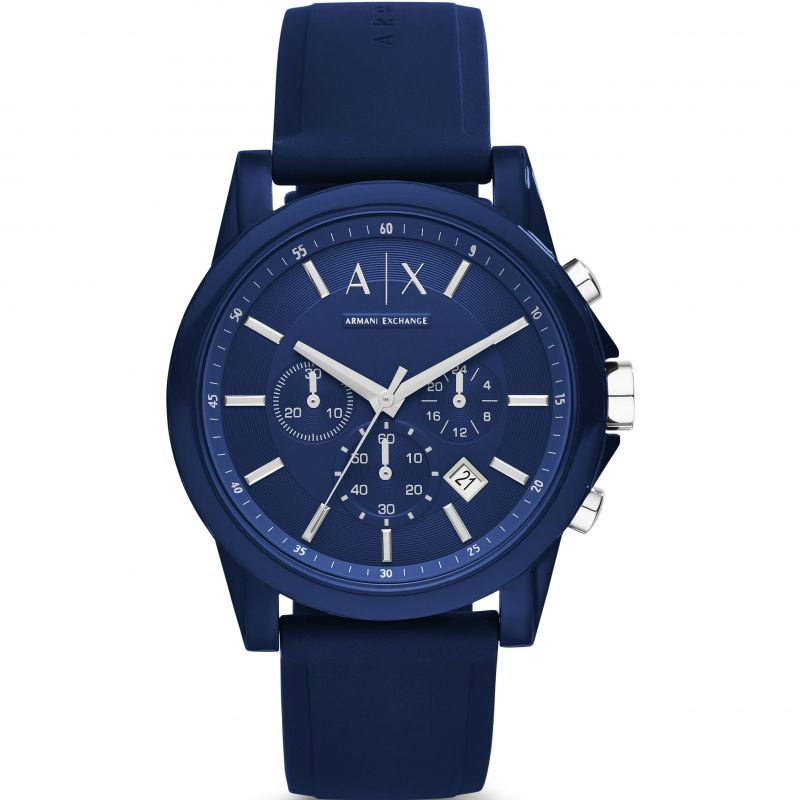 homme Armani Exchange Chronograph Watch AX1327