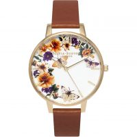 Damen Olivia Burton Blume Show geblümt Schmetterling Uhren