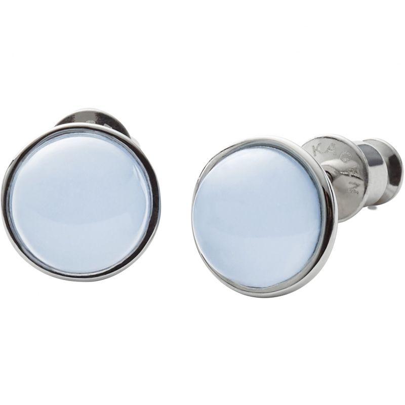 Ladies Skagen Stainless Steel SEAGLAS EARRINGS SKJ0820040