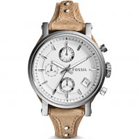 Ladies Fossil Original Boyfriend Chronograph Cuff Watch