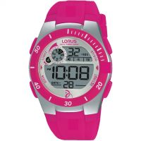 Ladies Lorus Alarm Chronograph Watch